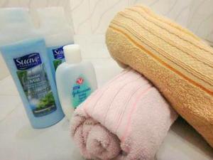 シャワー用タオル
